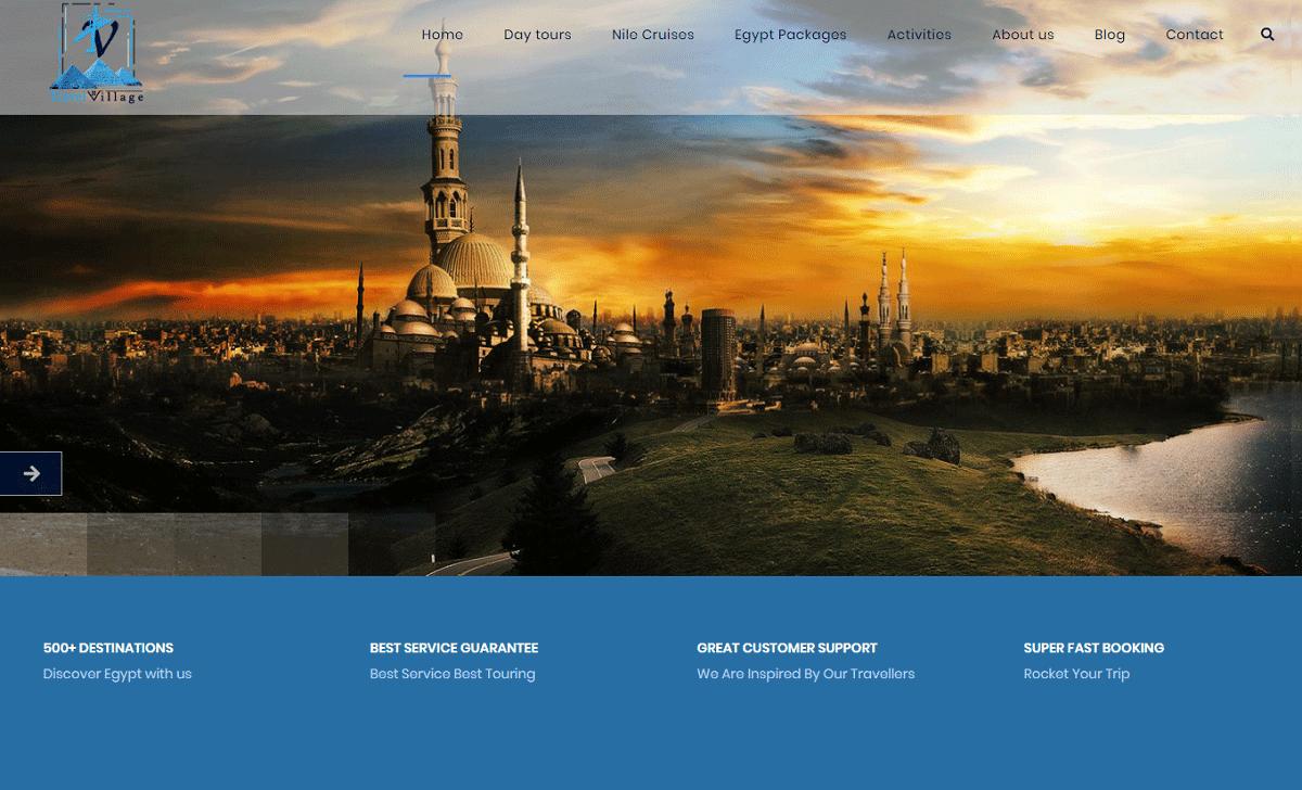 Travel Village Website