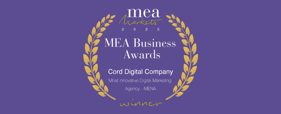 Our New Achievement MEA Business Award