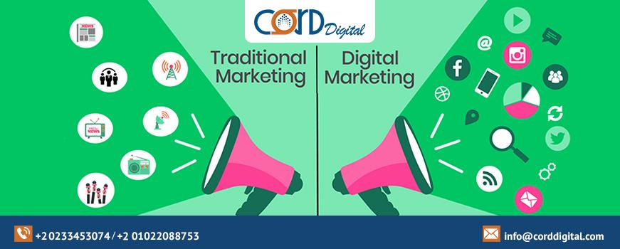 1- E-marketing and traditional marketing